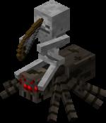 Скелет наездник Minecraft