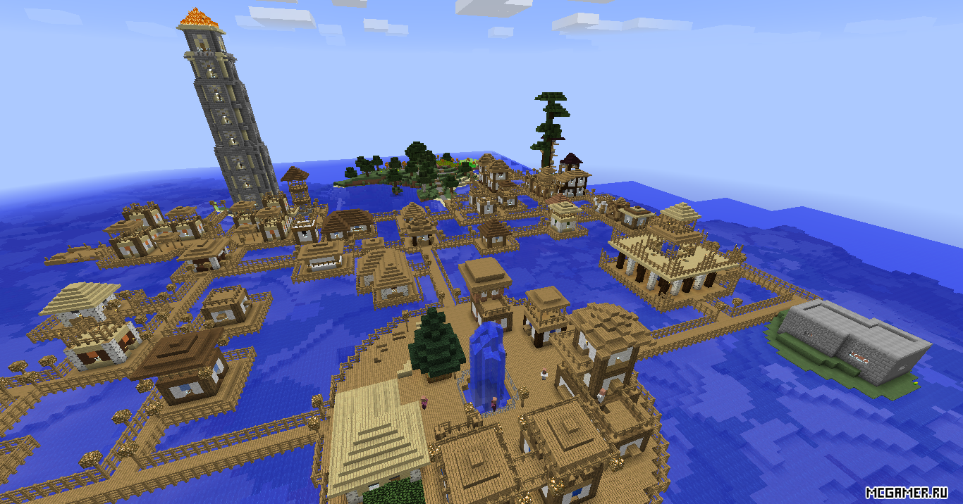 Схема постройки города