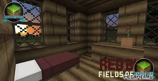 Текстурпак RedBird - Fields of Gold для Minecraft 1.7.10