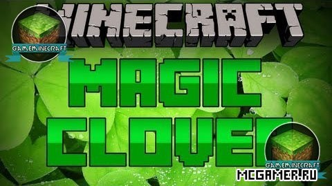 Мод Magic (Lucky) Clover для Minecraft 1.8
